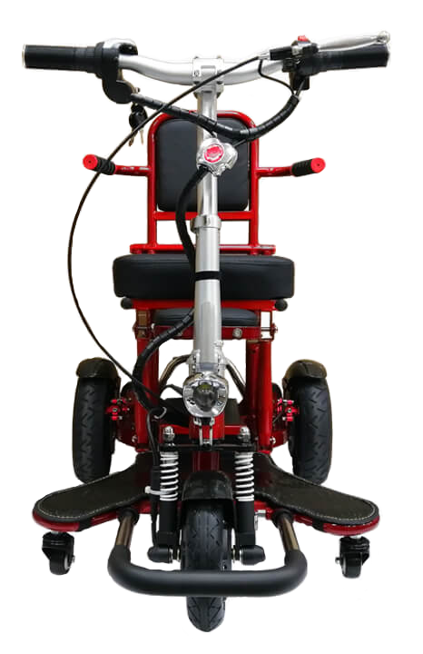 MOBOT-FLEXI-4th-Gen-RED-mobility-scooter-front
